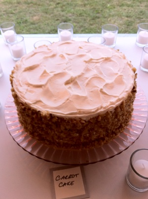 Carrot Cake - Wedding